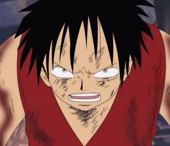 Luffy Angry