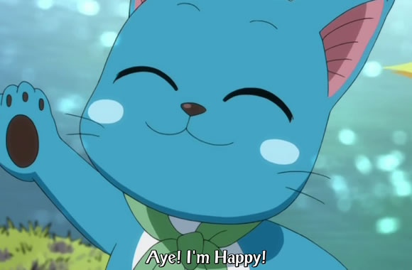 Happy Fish Fairy Tail Happy Fairy Tail Fish The End