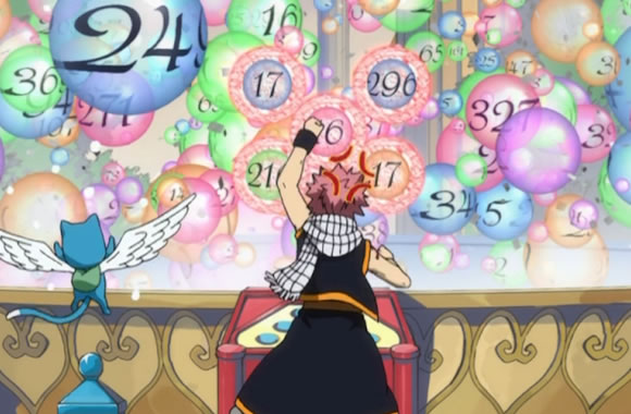 Natsu Tries A Number Game
