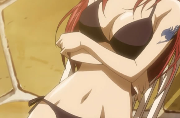 Erza Without Armor