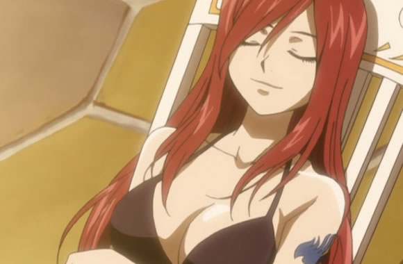 Erza With A Smile