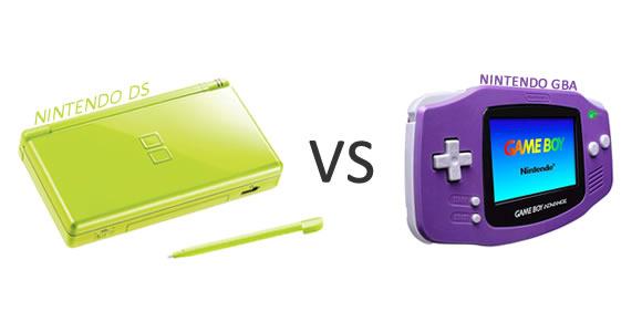 Nintendo DS VS GBA