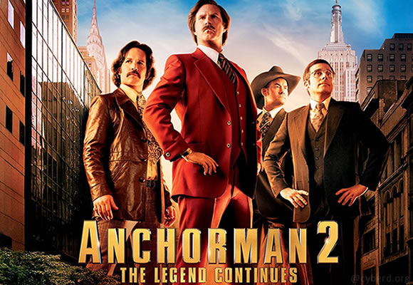 Anchorman 2 - The Legend Continues (2013)