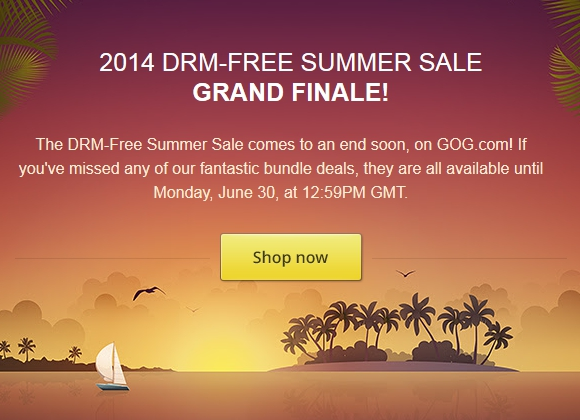 Summer Sales Are Ending!