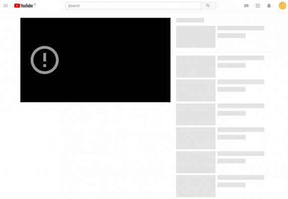 Blank YT Page