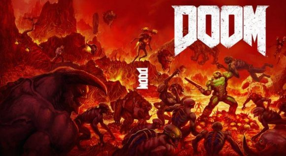 Doom 4 Sleeve Art