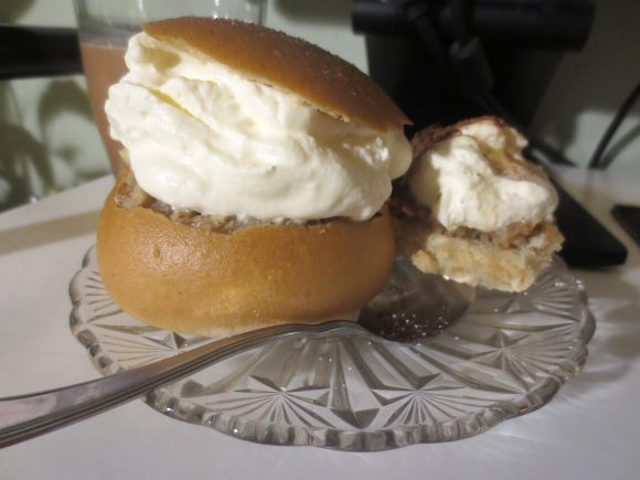 A Semla With Spoon