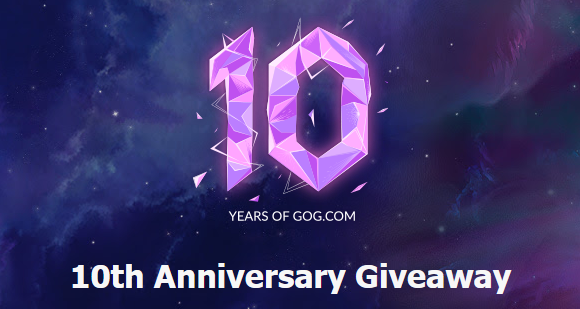 GOG's 10th Anniversary Giveaway