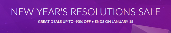 GOG's New Year's Resolutions Sale