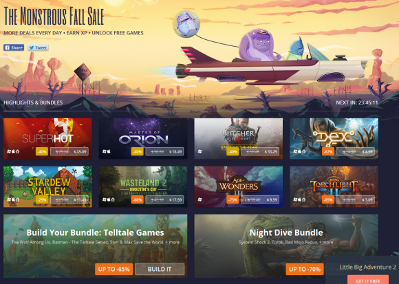 The Monstrous GOG Fall Sale Part 1
