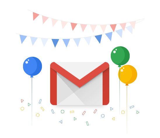 Happy Birthday Gmail!