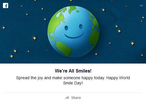 Happy World Smile Day!