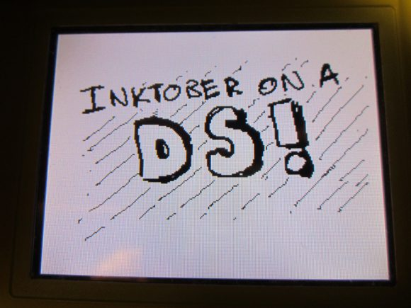 Inktober On A DS!