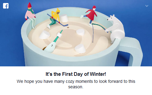 It's The First Day Of Winter?