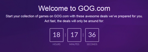 Welcome to GOG.com