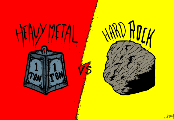 Heavy Metal Rocks Hard
