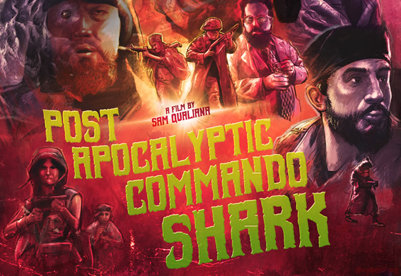 Post Apocalyptic Commando Shark (2018)