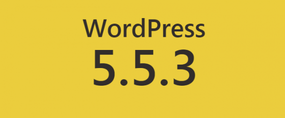 WordPress 5.5.3